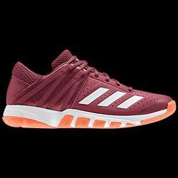 adidas chaussure rouge femme badminton