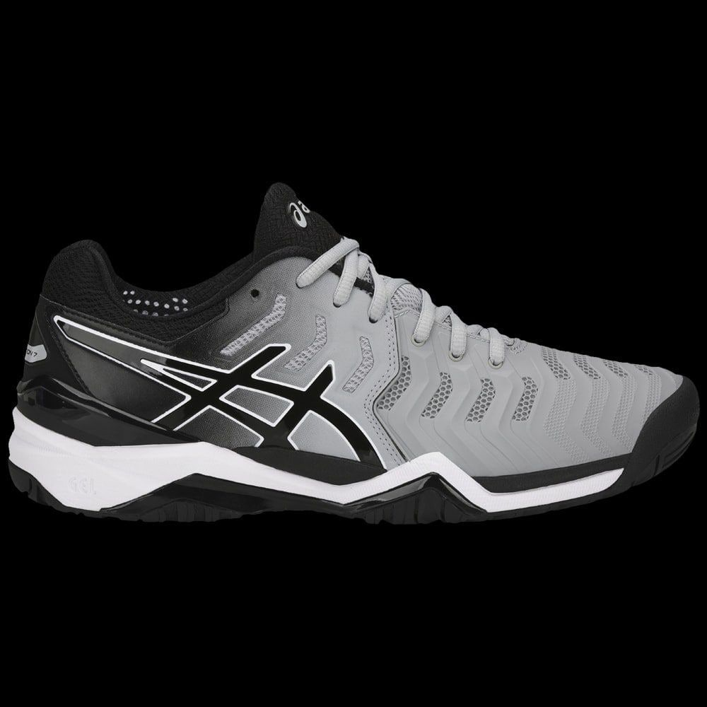 N Grise Asics Resolution 7 Tennis Gel q6Sx8I