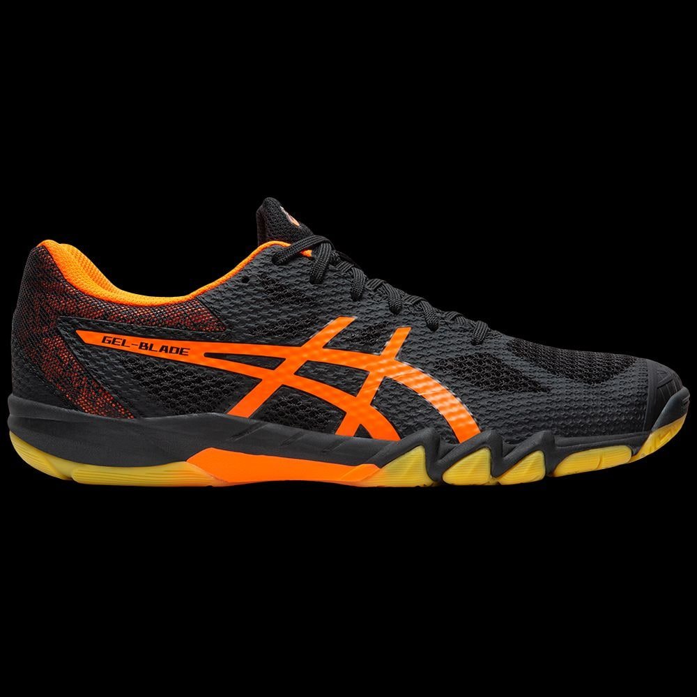 asics gel blade 7 orange