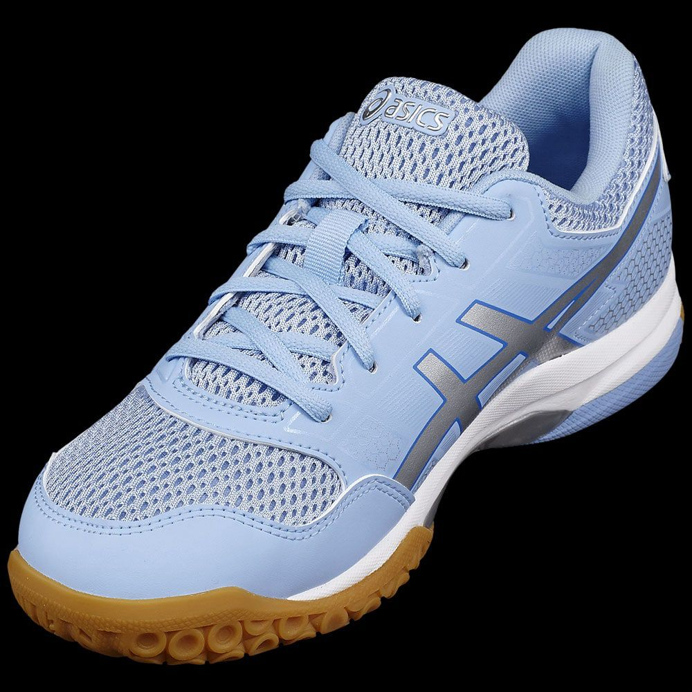 Asics Lady Gel Badmania 8 Bleue Rocket Chaussures UqpMVzS