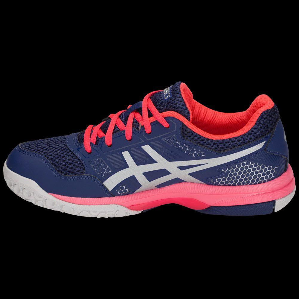 chaussures asics gel rocket 8 bleu marine
