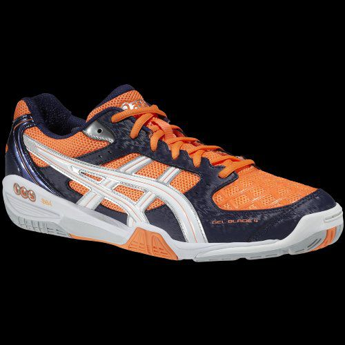 ASICS GEL BLADE 4 ORANGE/MARINE