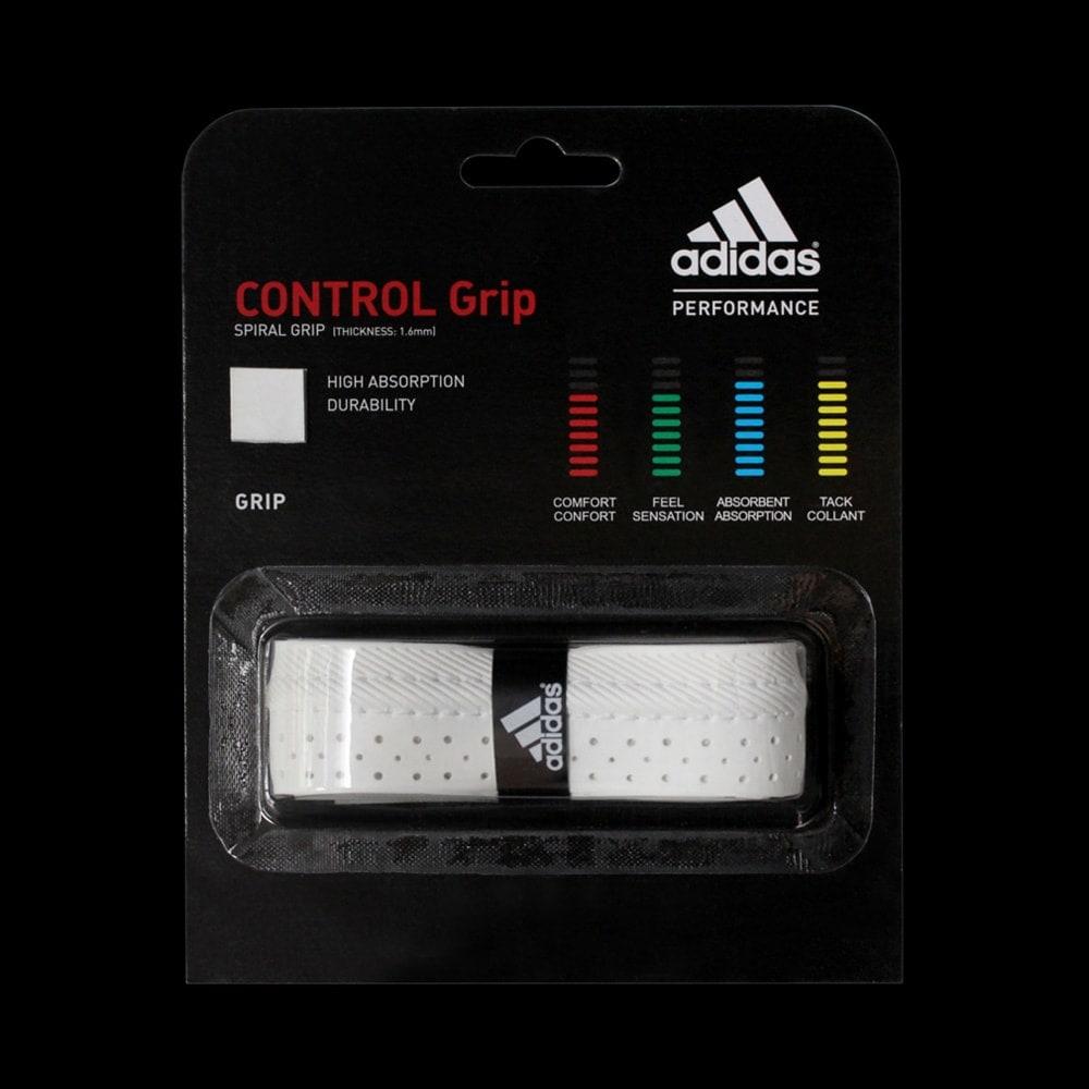grip adidas control grip blanc badminton. Black Bedroom Furniture Sets. Home Design Ideas
