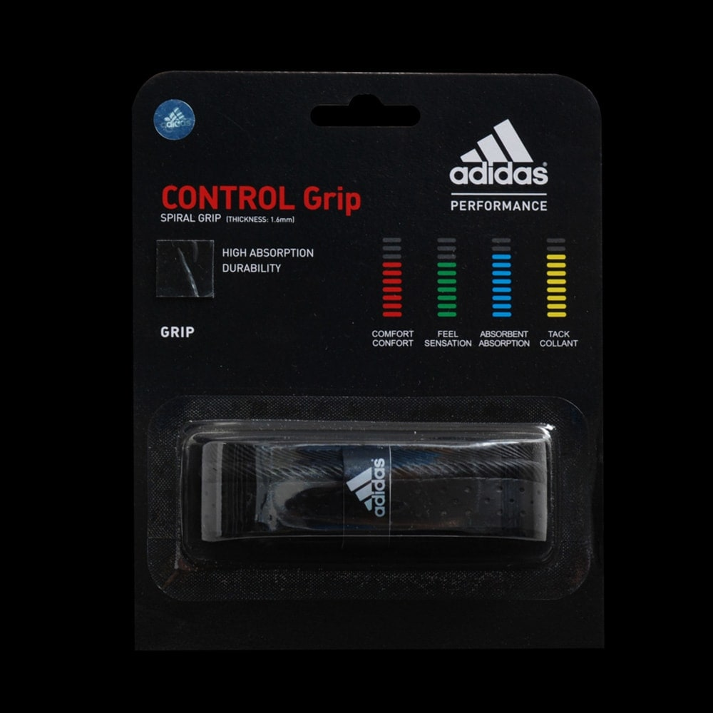 grip adidas control grip noir badminton. Black Bedroom Furniture Sets. Home Design Ideas