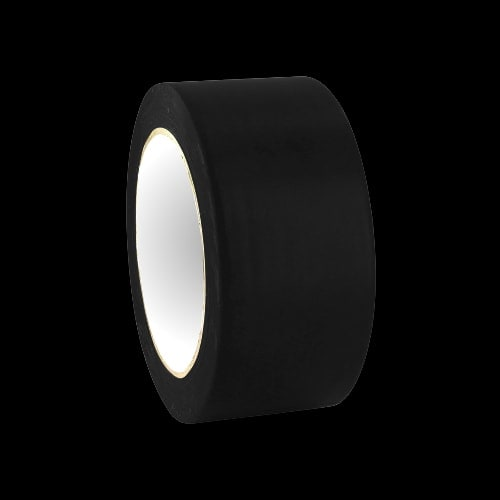 Rouleau adhesif noir tracage terrain badminton - Rouleau pour aplanir terrain ...