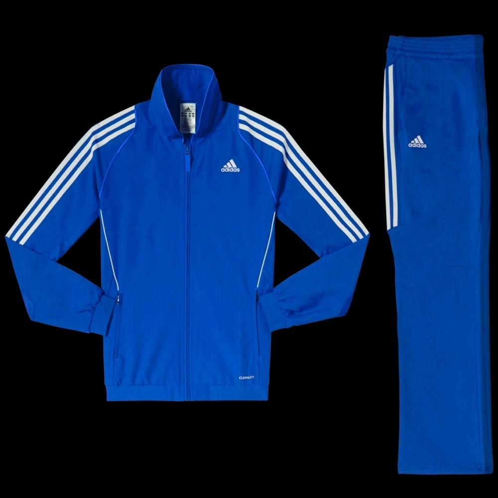 ensemble adidas bleu