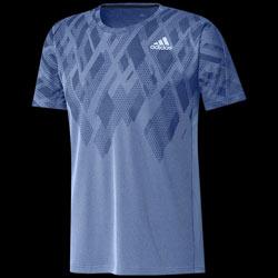 Men Color Block Bleu Shirt Adidas Tee l1TFcKJ3