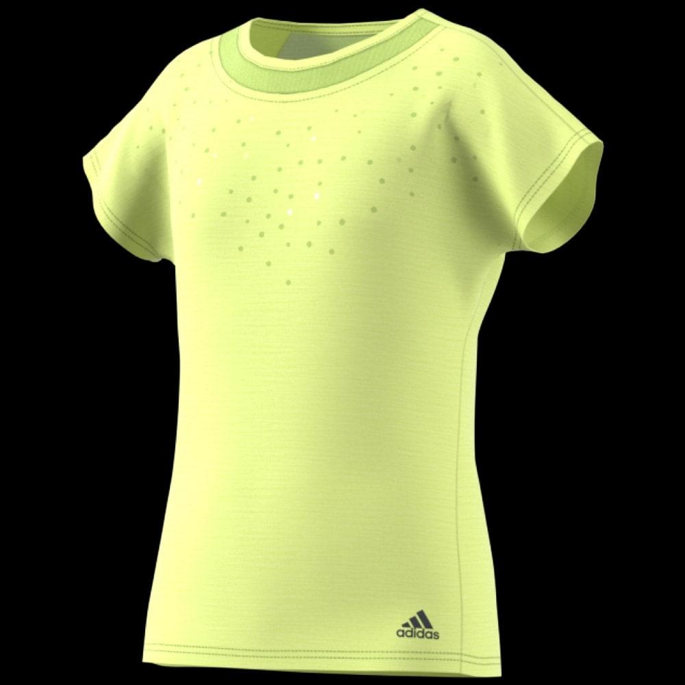 tee shirt jaune adidas