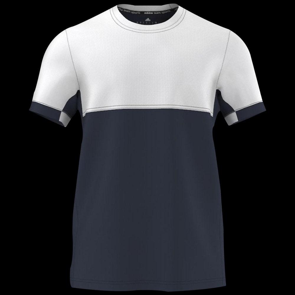 Adidas Shirt Team Men Blancmarine Tee gy7Ybf6