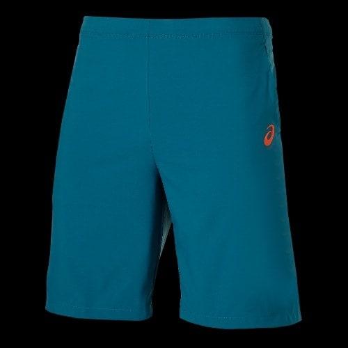 short asics bleu marine