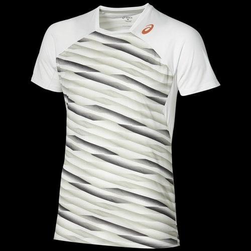 asics t shirt blanche
