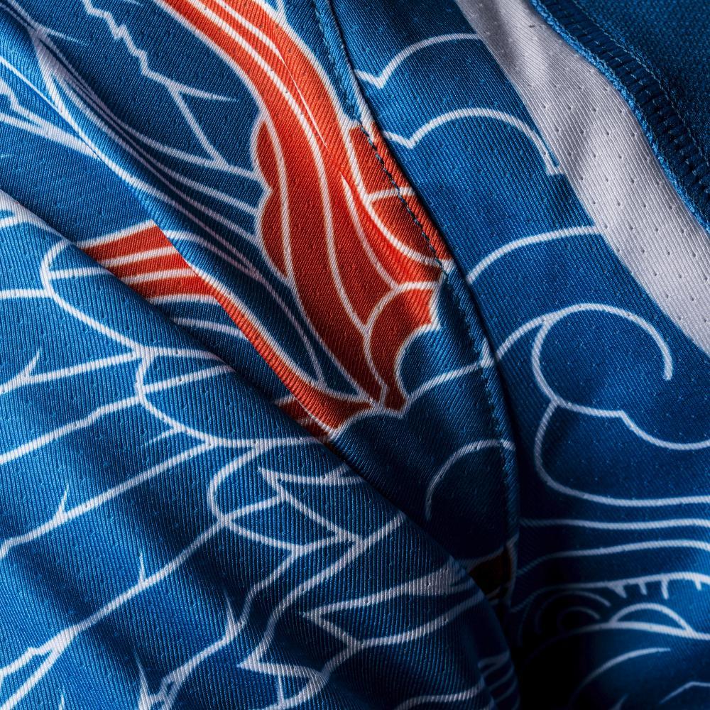 Li Bleu Badmania Aayl131 Men Edition Ning Olympic Polo 80PkZnONXw