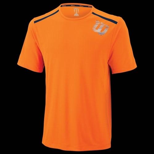 Tee shirt wilson men blur print orange for T shirt printing stonecrest mall