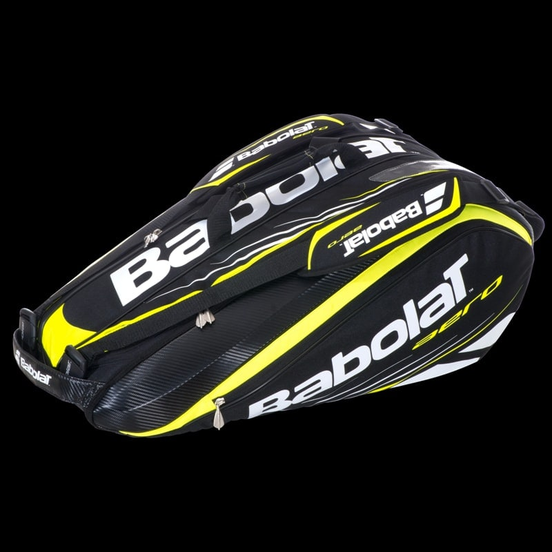 BABOLAT RACKET HOLDER AERO 2014 X9 JAUNE