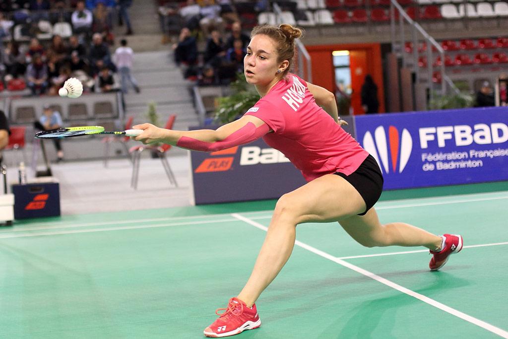 Joueur de badminton professionnels - Yaëlle Hoyaux - Badmania