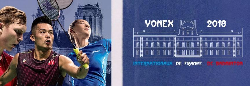 Live des Yonex Internationaux de France de Badminton - Badmania
