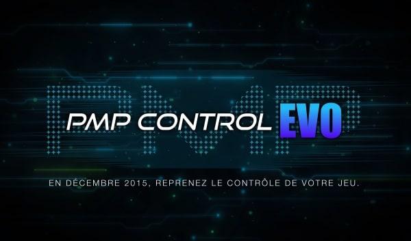 En d�cembre, d�couvrez la PMP Control EVO !