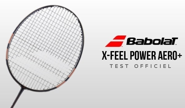 test X-Feel Power Aero +